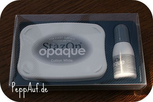 StazOn cotton white, weiß