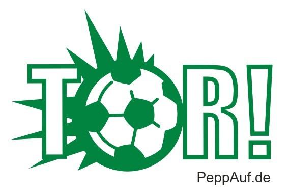 Tor - Fußballstempel; Tor - Fußballstempel