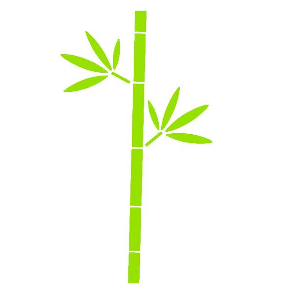 gro er bambus lime velours motiv zum aufb geln. Black Bedroom Furniture Sets. Home Design Ideas