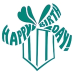 Happy Birthday! - Stempel