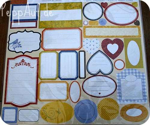 Stickeraufkleber Zum Beschriften Mediteran