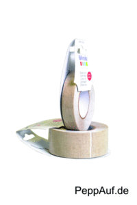 Leinenband Tape, *Linen ribbon*, 15 mm, Scrapbooking, 5m lang