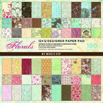 180 Scrapbook Bögen, my mind's eye, *antique florals*